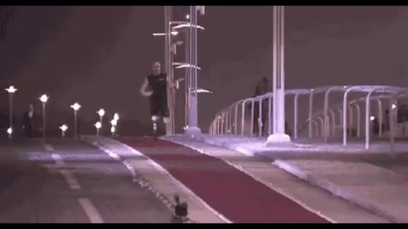 Скорость параолимпийца