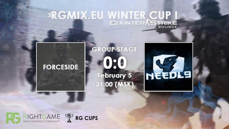 RGMIX.eu Winter Cup 1 [FORCESIDE vs Needl9] Group B