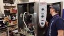 Ремонт пароконвектомата Rational CM 101 ошибка E12 мотор