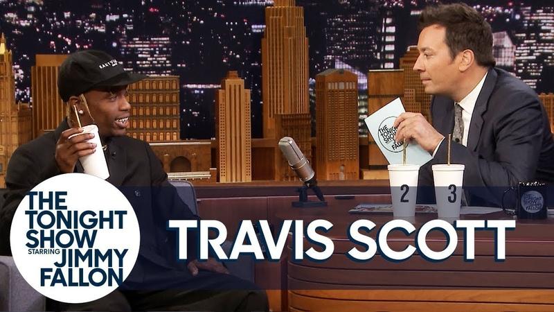 Travis Scott Takes a Jamba Juice Taste Challenge