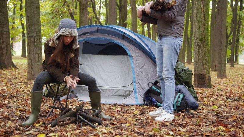 Insopportabilmente donna Le donne e il campeggio
