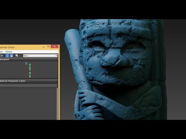 3DsMax: Totem HighPoly speed modeling (Short version)
