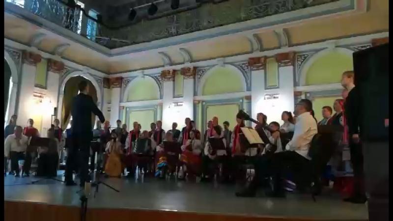 Госэкзамен по дирижированию днепр хоровик хор дкки2018 хормейстер