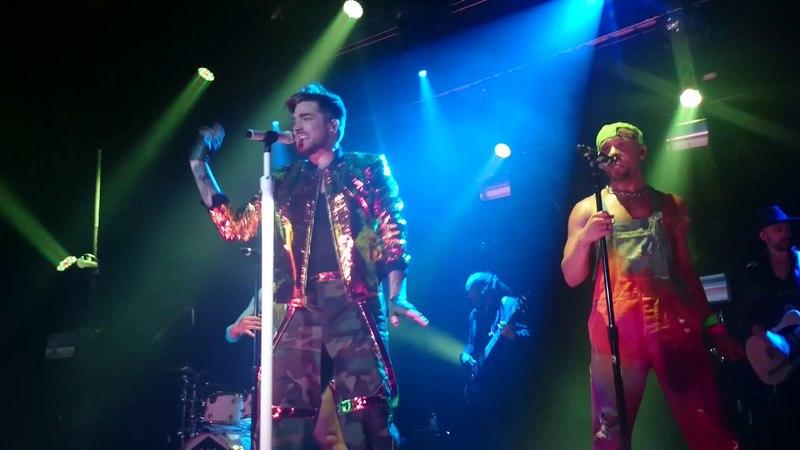 20160113 Adam Lambert - Lay Me Down/Shady/Fever in Nagoya, Japan