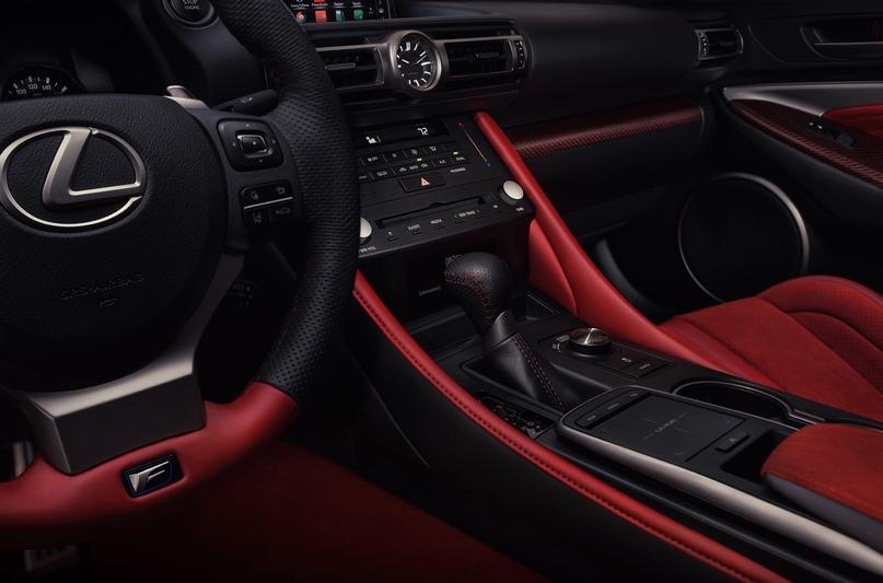 Обновленный Lexus RC F и трековая версия из карбона, изображение №14