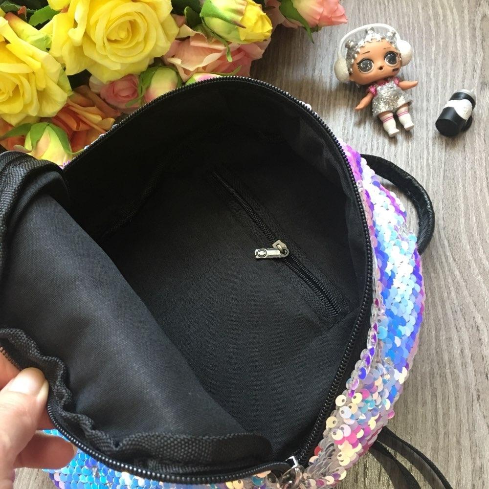 Рюкзак LOL с двусторонними пайетками