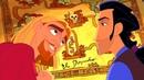 Тулио и Мигель выигрывают карту, ведущую к городу Эльдорадо. Дорога на Эльдорадо (2000) год.