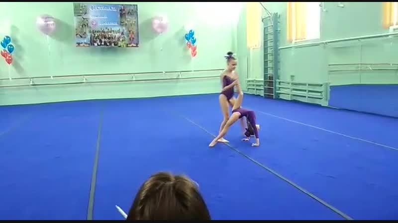 Первенство города Севастополя по спортивной акробатике 1 юношеский