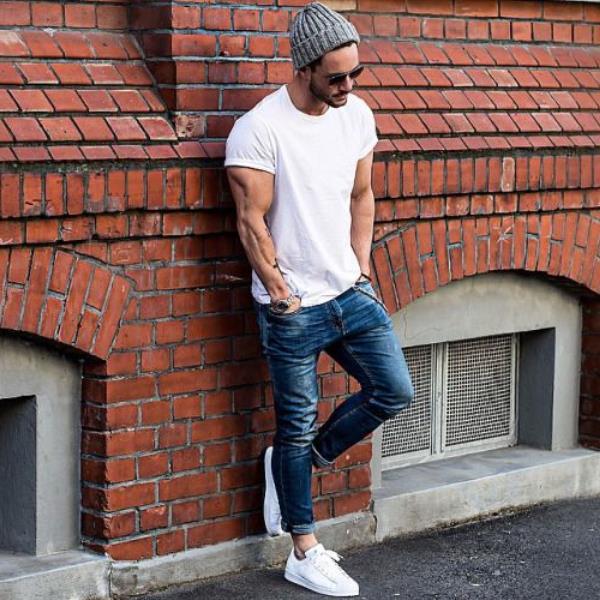 секи рваные джинсы под высокие кеды фото зависимости фасона