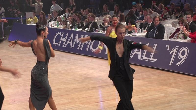 Champions Ball 2019: финал Pro International Latin