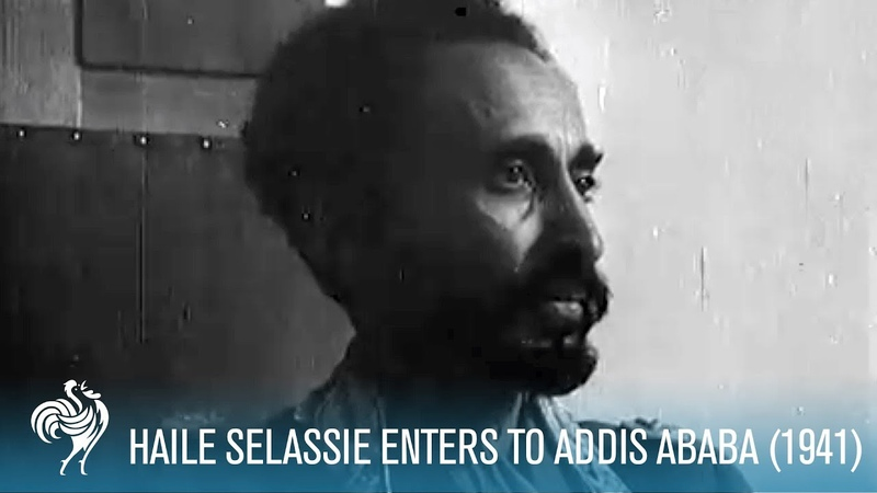 Haile Selassie Returns to Addis Ababa from Exile 1941 British Path