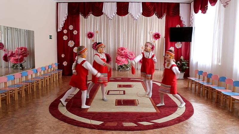 дс 149 СВЕТЛЯЧОКнародный танец КРАЙ РЯБИНОВЫЙ