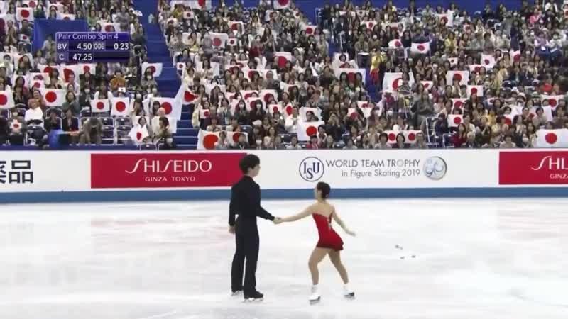 Riku MIURA_Shoya ICHIHASHI FS World Team Trophy 2019