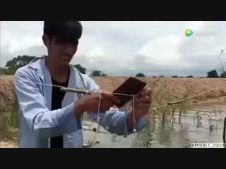 Ещё один вид ловли рыбы