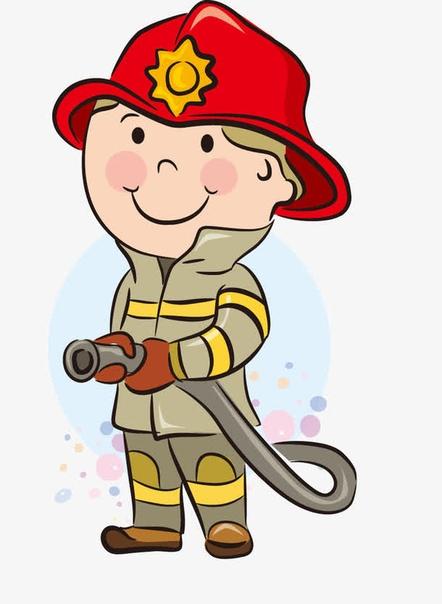 мультяшный пожарный картинки зеленые таблетки