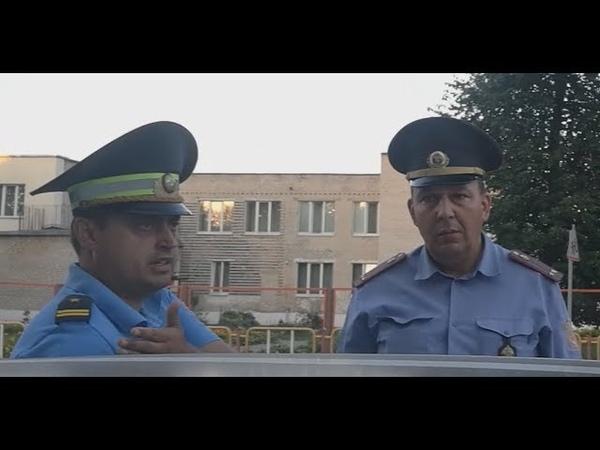 ГАИ Незаконное задержание Самосюк и Балобан Город Береза