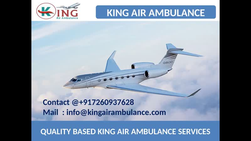Get Finest Air Ambulance Service in Raipur and Bhopal by King
