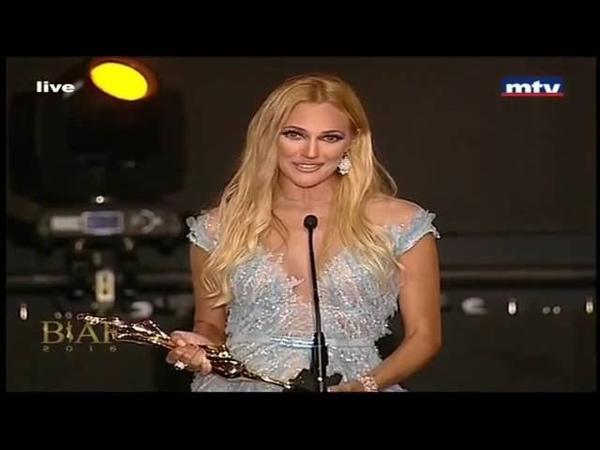 Temiz Magazin - Meryem Uzerli Beyrut BİAF ödül töreninde göz kamaştırdı.
