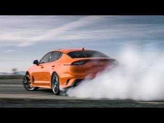Kia Stinger GTS 2020  динамика, статика, интерьер