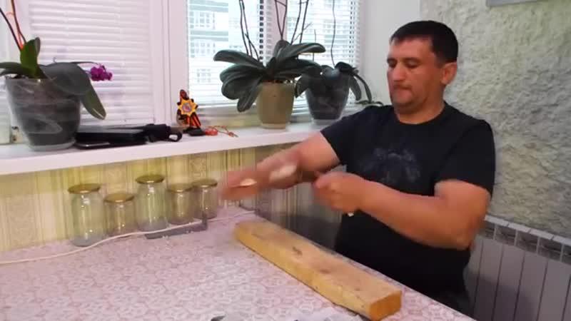 165. Нож Косуля из ХВ5 от Седова ЧАСТЬ 2