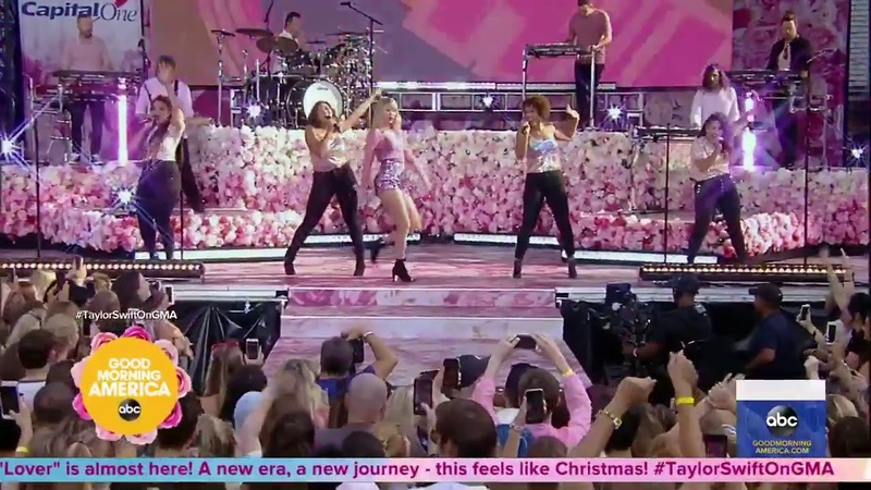 Taylor Swift - You Need To Calm Down (Good Morning America Concert)