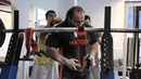 Zahir Khudayarov Squat RAW 3 x 440 kg (968 lbs)
