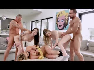 Bunny Colby, Harlowe Blue [TeamSkeet] Anal Winking, BDSM, Foursome, Tattoo, Teen, Step Dad, Facial
