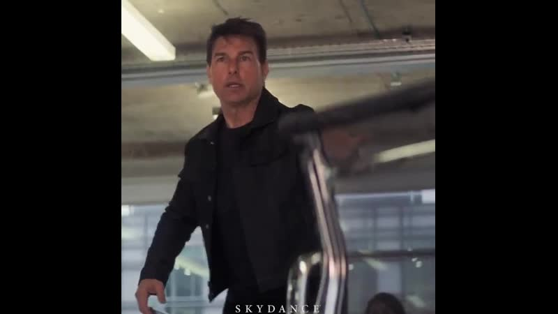 Mission Impossible Fallout (2018) — During at the end of this scene, you can see an old lady nodding to Ethan Hunt before jumpi