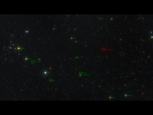 Barnard's Star in the Solar neighborhood