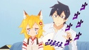 ROUGH ABUSE of Senko-san's tail and ears: cute or lewd? | Sewayaki Kitsune no Senko-san