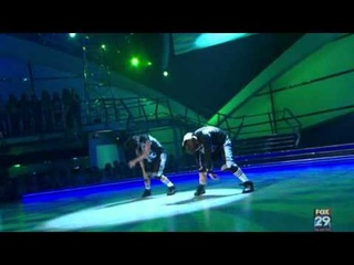 SYTYCD Pasha and Lauren dance a Hip Hop routine by Shane Sparks