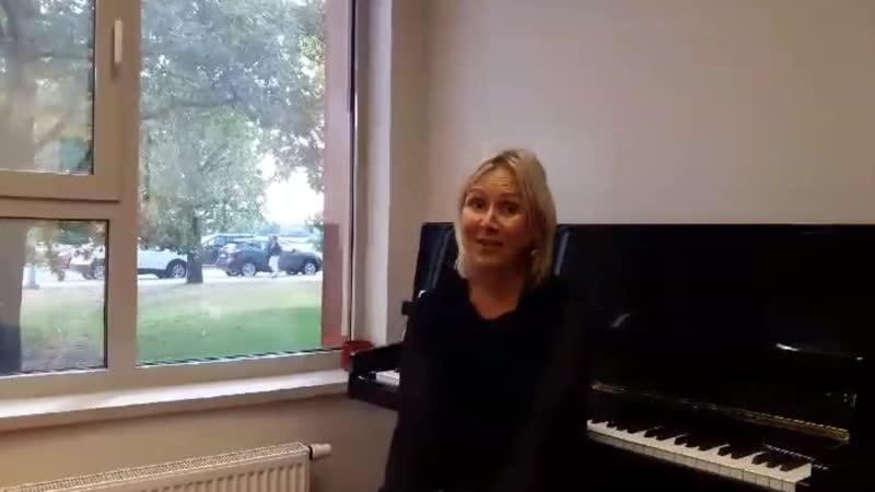 Приветствие участникам Музыкальной МеТЛы от Анны Вейсмане Латвия
