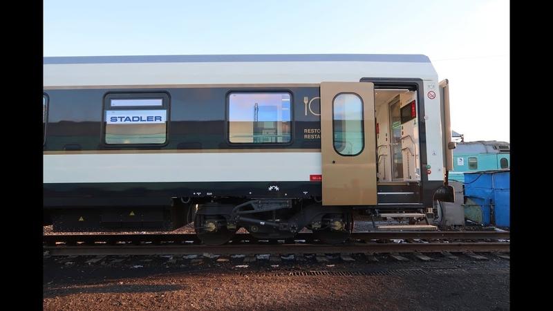Поезд STADLER в Казахстане