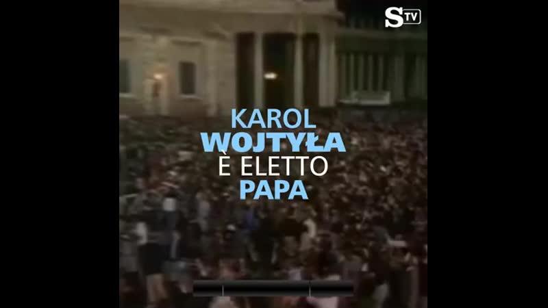 Il 16 ottobre 1978 veniva eletto Papa Giovanni Paolo II Karol Józef Wojtyła . 360p .mp4