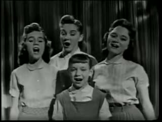 The Lennon Sisters - Tonight You Belong To Me