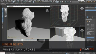 FumeFX  for 3ds Max Update Highlights