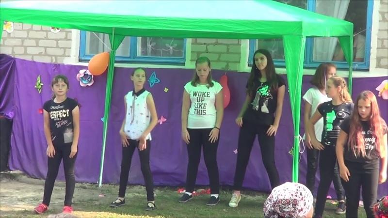 День села Олексіївка Дівчата танцюють 17 08 2019