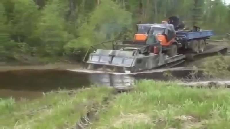 Самый крутой вездеход ДТ-30Витязь