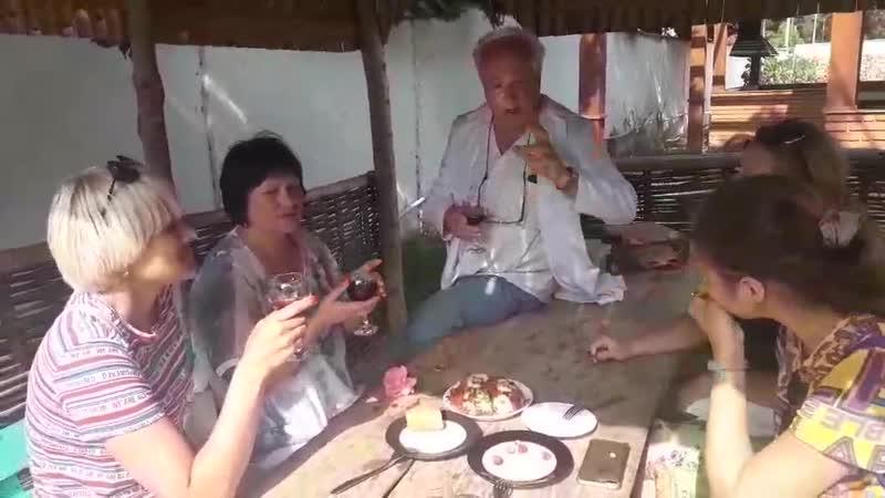 Горная Аджария Тосты от директора винзавода KTW с Кеда для наших гостей