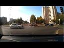 Момент ДТП на перекрестке в Нижнекамске снял видеофиксатор
