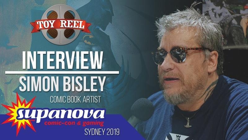 Supanova Sydney 2019 | Interview with Simon Bisley