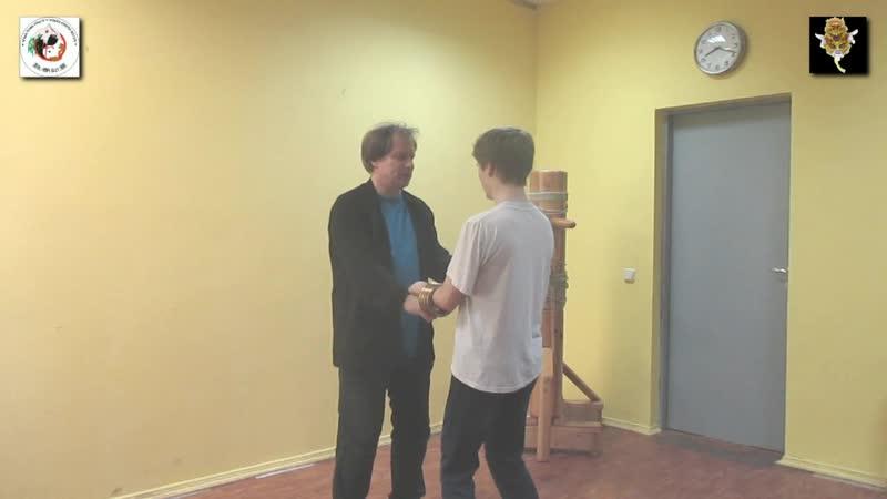 WING CHUN OPEN HANDS Dai Sifu Sergei Shelestov Ms Maxim Yushkin OPEN HANDS FEELINGS TRAINING 36