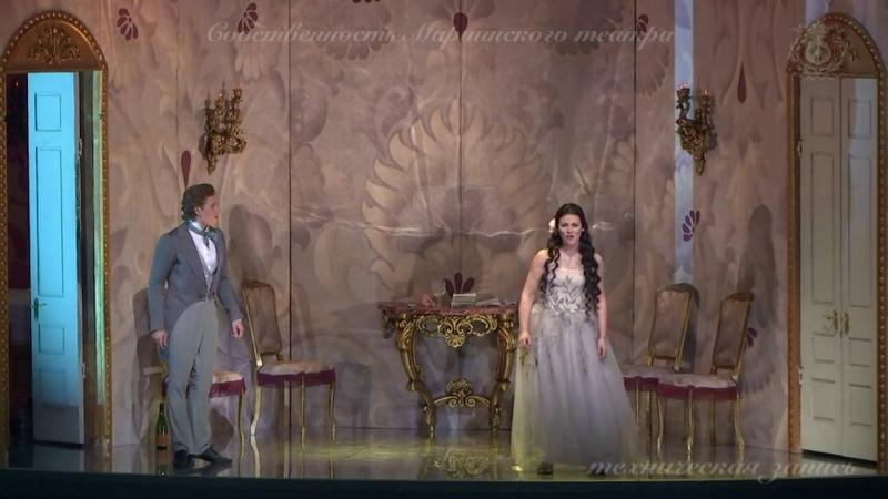 La Traviata, Violetta and Alfredo duet Un di felice... Ilya Selivanov and Natalia Pavlova