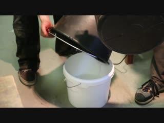 Стол-река. Как заливать слэбы эпоксидной смолой.