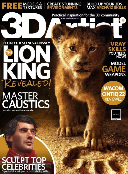3D Artist - Issue 138 - 2019