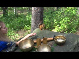Sound healing (native american flute in d, singing bowls, koshi)