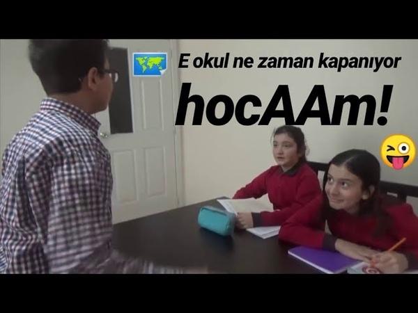 Eokul ne zaman kapanıyor hocam! Bir öğretmen-öğrenci parodisi:))