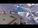 RARE Video Footage of Alien Space Craft WATCHING ISS Astronaut! WHO are they?