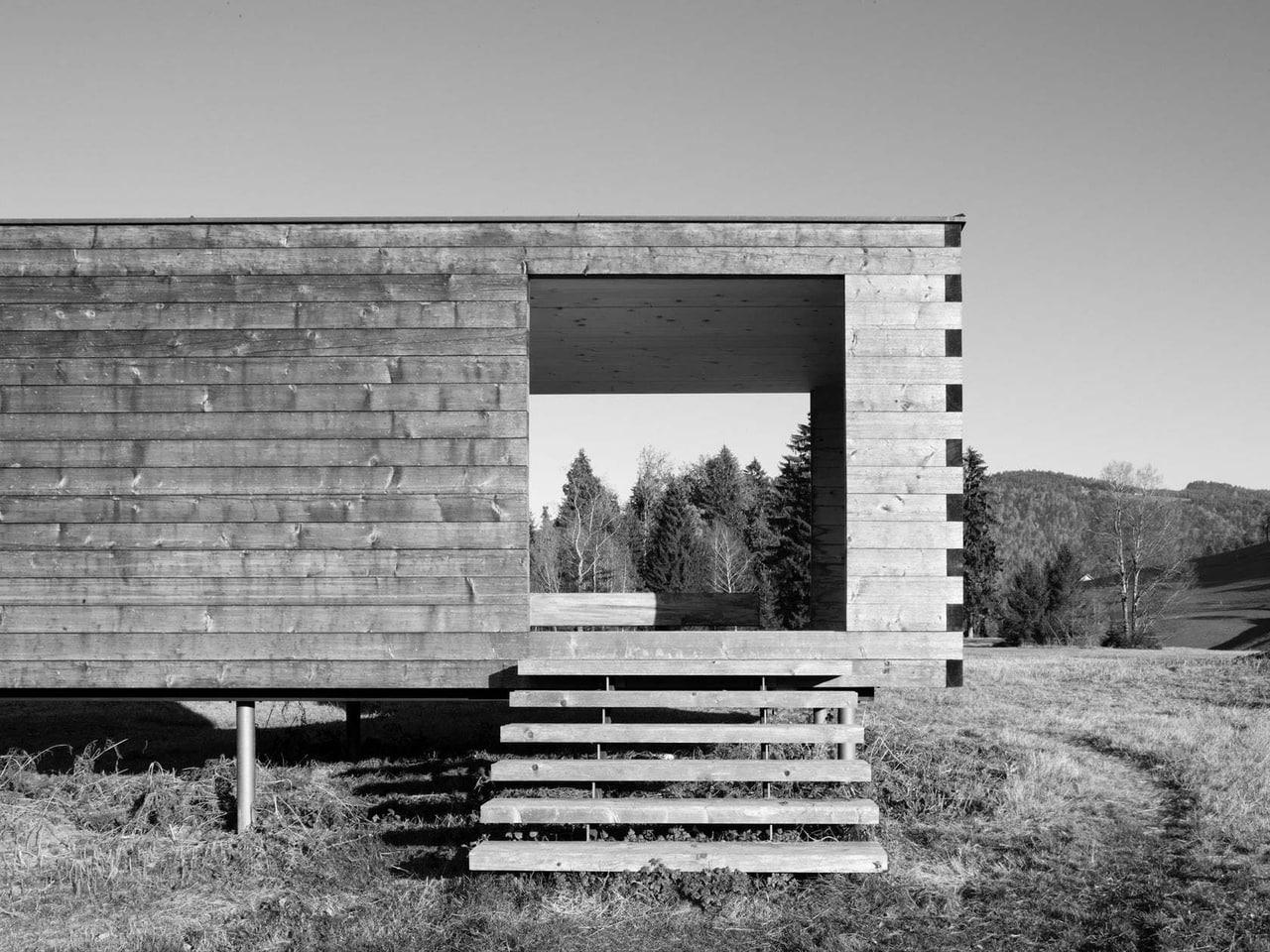 Moorraum in Krumbach, Austria by Bernardo Bader Architekten