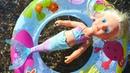 Беби бон Русалочка в море. Видео для девочек на английском языке.